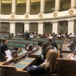 Les rhétos 2018-2019 découvrent le Parlement fédéral et le musée BELvue